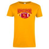Ladies Gold T Shirt-SC 2018 Homecoming
