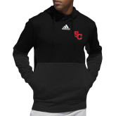 Adidas Black Team Issue Hoodie-SC Interlocking