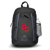 Impulse Black Backpack-SC Interlocking