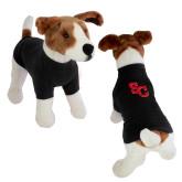 Classic Black Dog T Shirt-SC Interlocking