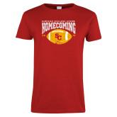 Ladies Red T Shirt-SC 2018 Homecoming