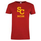 Ladies Red T Shirt-SC Mom