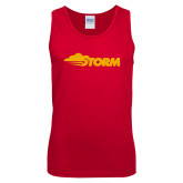 Red Tank Top-Storm Secondary Logo