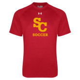 Under Armour Red Tech Tee-SC Soccer