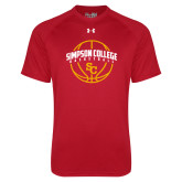 Under Armour Red Tech Tee-Siaimpson Basketball Graphic