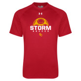 Under Armour Red Tech Tee-SC Soccer Graphic