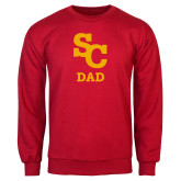 Red Fleece Crew-SC Dad