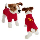 Classic Red Dog T Shirt-SC Interlocking