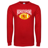 Red Long Sleeve T Shirt-SC 2018 Homecoming