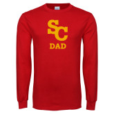 Red Long Sleeve T Shirt-SC Dad