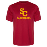 Performance Red Tee-SC Basketball