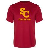 Performance Red Tee-SC Grandpa
