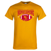 Gold T Shirt-SC 2018 Homecoming