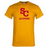Gold T Shirt-SC Alumni