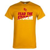 Gold T Shirt-SC Fear the Storm