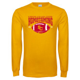 Gold Long Sleeve T Shirt-SC 2018 Homecoming