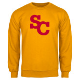 Gold Fleece Crew-SC Interlocking