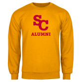 Gold Fleece Crew-SC Alumni
