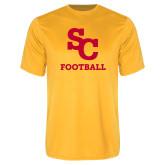 Performance Gold Tee-SC Football