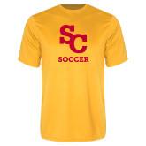 Performance Gold Tee-SC Soccer