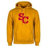 Gold Fleece Hoodie-SC Interlocking