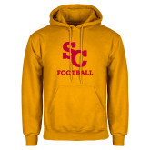 Gold Fleece Hoodie-SC Football