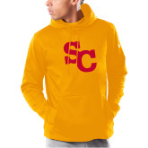 Under Armour Gold Armour Fleece Hoodie-SC Interlocking