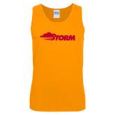 Gold Tank Top-Storm Secondary Logo