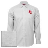 Red House White Diamond Dobby Long Sleeve Shirt-SC Interlocking
