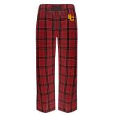 Red/Black Flannel Pajama Pant-SC Interlocking