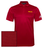 Adidas Climalite Red Grind Polo-Storm Secondary Logo