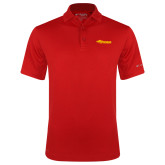 Columbia Red Omni Wick Drive Polo-Storm Secondary Logo