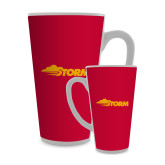 Full Color Latte Mug 17oz-Storm Secondary Logo