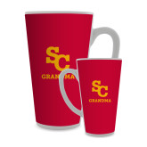 Full Color Latte Mug 17oz-SC Grandma