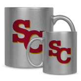 Full Color Silver Metallic Mug 11oz-SC Interlocking