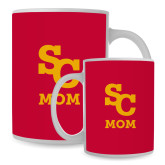 Mom Full Color White Mug 15oz-SC Mom