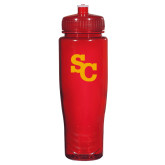 Spectrum Red Sport Bottle 28oz-SC Interlocking