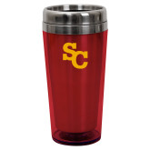 Solano Acrylic Red Tumbler 16oz-SC Interlocking