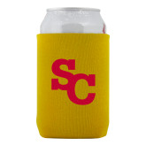 Neoprene Gold Can Holder-SC Interlocking