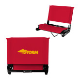 Stadium Chair Red-Storm Secondary Logo