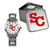 Mens Stainless Steel Fashion Watch-SC Interlocking