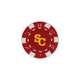 Red Game Chip-SC Interlocking