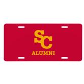 License Plate-SC Alumni
