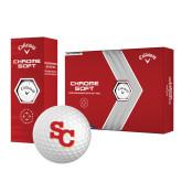 Callaway Chrome Soft Golf Balls 12/pkg-SC Interlocking