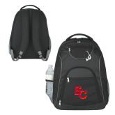 The Ultimate Black Computer Backpack-SC Interlocking