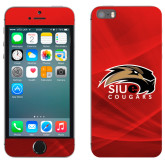 iPhone 5/5s Skin-SIUE Cougars Official Logo
