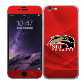 iPhone 6 Skin-SIUE Cougars Official Logo