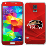 Galaxy S5 Skin-SIUE Cougars Official Logo