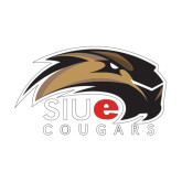 Medium Decal-SIUE Cougars Official Logo, 8 inches wide
