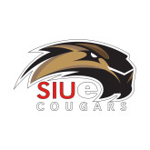 Small Decal-SIUE Cougars Official Logo, 6 inches wide